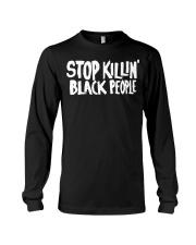 Stop Killing black people shirt Long Sleeve Tee thumbnail
