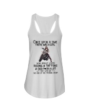 Once Upon a time there was a girl Motorbike  Ladies Flowy Tank thumbnail