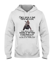 Once Upon a time there was a girl Motorbike  Hooded Sweatshirt thumbnail