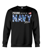 Camo proud navy mom american flag shirt Crewneck Sweatshirt thumbnail