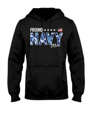 Camo proud navy mom american flag shirt Hooded Sweatshirt thumbnail
