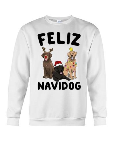 Feliz Navidog Labrador Retriever Christmas