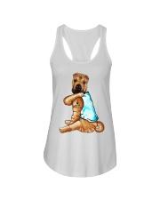Shar Pei Tattoo I love mom shirt Ladies Flowy Tank thumbnail