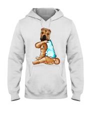Shar Pei Tattoo I love mom shirt Hooded Sweatshirt thumbnail