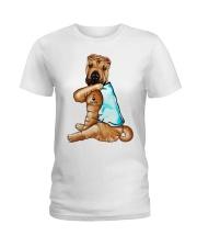 Shar Pei Tattoo I love mom shirt Ladies T-Shirt thumbnail