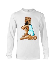 Shar Pei Tattoo I love mom shirt Long Sleeve Tee thumbnail