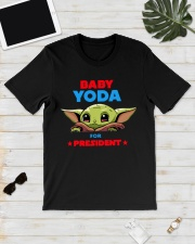 Baby Yoda for President shirt Classic T-Shirt lifestyle-mens-crewneck-front-17