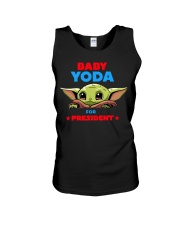 Baby Yoda for President shirt Unisex Tank thumbnail