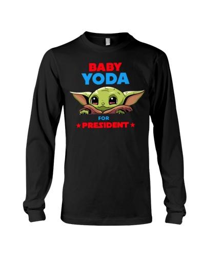 Baby Yoda for President shirt