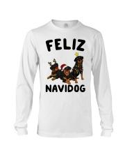 Feliz Navidog Rottweiler Christmas Long Sleeve Tee thumbnail