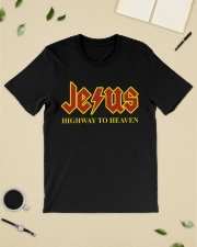 Jesus highway to heaven shirt Classic T-Shirt lifestyle-mens-crewneck-front-19