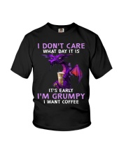 Dragon I Dont Care What Day It Is Its Early  Youth T-Shirt thumbnail