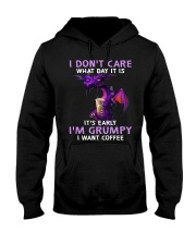 Dragon I Dont Care What Day It Is Its Early  Hooded Sweatshirt thumbnail