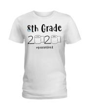 8th Grade 2020 quarantined T-shirt Ladies T-Shirt thumbnail