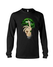 Lips Weed not today bitch shirt Long Sleeve Tee thumbnail