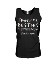 Teacher besties i'll be there for you from Unisex Tank thumbnail