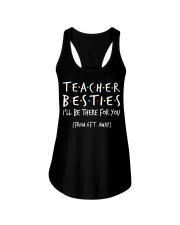 Teacher besties i'll be there for you from Ladies Flowy Tank thumbnail