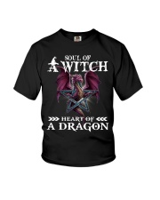 Soul of a witch heart of a dragon shirt Youth T-Shirt thumbnail