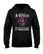 Soul of a witch heart of a dragon shirt Hooded Sweatshirt thumbnail