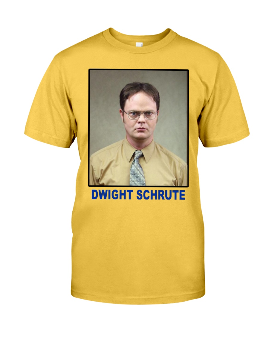 Dwight Schrute Determined Worker Instense  Classic T-Shirt