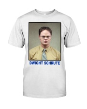 Dwight Schrute Determined Worker Instense  Classic T-Shirt thumbnail