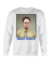 Dwight Schrute Determined Worker Instense  Crewneck Sweatshirt thumbnail