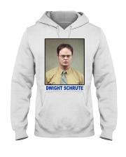 Dwight Schrute Determined Worker Instense  Hooded Sweatshirt thumbnail