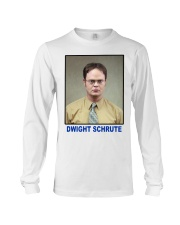 Dwight Schrute Determined Worker Instense  Long Sleeve Tee thumbnail