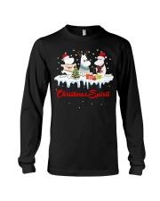 Unicorn Christmas Spirit shirt Long Sleeve Tee thumbnail