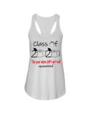Class of 2020 the year when shit got real  Ladies Flowy Tank thumbnail