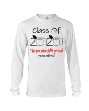 Class of 2020 the year when shit got real  Long Sleeve Tee thumbnail