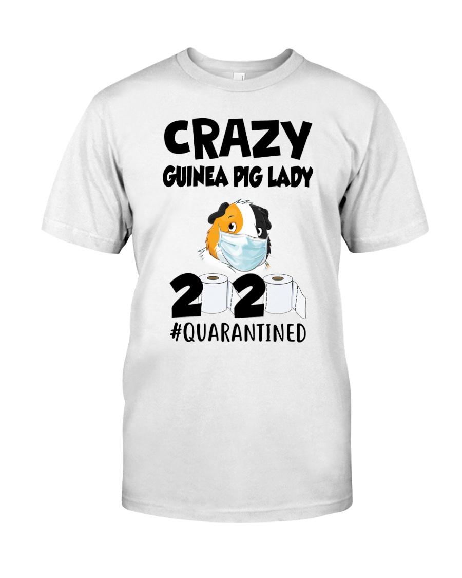 Crazy guinea pig lazy 2020 quarantined T-shirt Classic T-Shirt