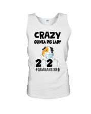 Crazy guinea pig lazy 2020 quarantined T-shirt Unisex Tank thumbnail