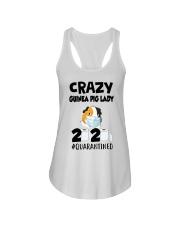Crazy guinea pig lazy 2020 quarantined T-shirt Ladies Flowy Tank thumbnail