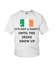 St Patrick's Day Irish It's not a party the Irish Youth T-Shirt tile
