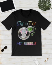 Elephant Stay out of my bubble t-shirt Classic T-Shirt lifestyle-mens-crewneck-front-17