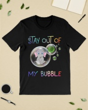 Elephant Stay out of my bubble t-shirt Classic T-Shirt lifestyle-mens-crewneck-front-19