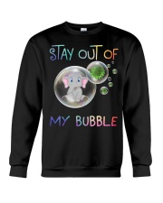 Elephant Stay out of my bubble t-shirt Crewneck Sweatshirt thumbnail