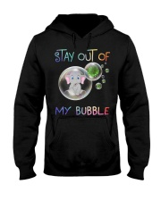 Elephant Stay out of my bubble t-shirt Hooded Sweatshirt thumbnail