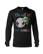 Elephant Stay out of my bubble t-shirt Long Sleeve Tee thumbnail