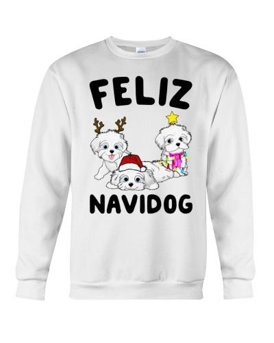 Feliz Navidog Havanese Dog Christmas shirt