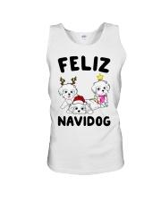 Feliz Navidog Havanese Dog Christmas shirt Unisex Tank thumbnail