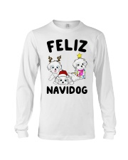 Feliz Navidog Havanese Dog Christmas shirt Long Sleeve Tee thumbnail