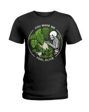 Skeleton You make me feel alive shirt Ladies T-Shirt thumbnail