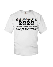 Seniors 2020 Quarantined shirt Youth T-Shirt tile