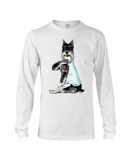 Miniature Schnauzer Tattoo I love mom shirt Long Sleeve Tee thumbnail
