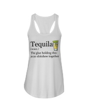 Tequila Definition The glue holding this 2020 Ladies Flowy Tank thumbnail