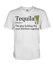 Tequila Definition The glue holding this 2020 V-Neck T-Shirt thumbnail