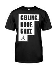 CEILING ROOF GOAT Classic T-Shirt front
