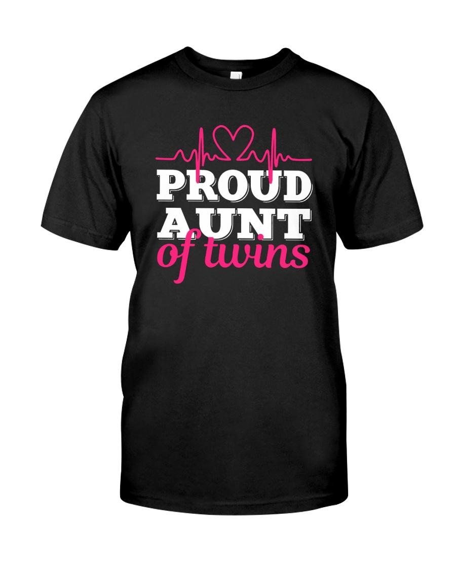 Proud Aunt of twins Classic T-Shirt